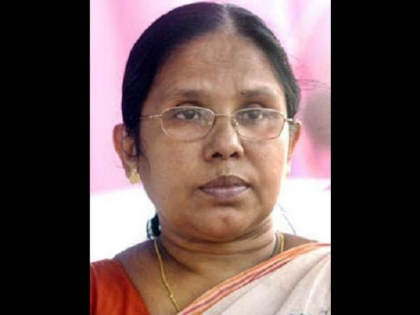 Minister Kk Shylaja Against Thalassery Dalit Issue