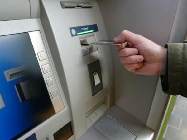 Atm Fails Produce Cash Man Damages Machine