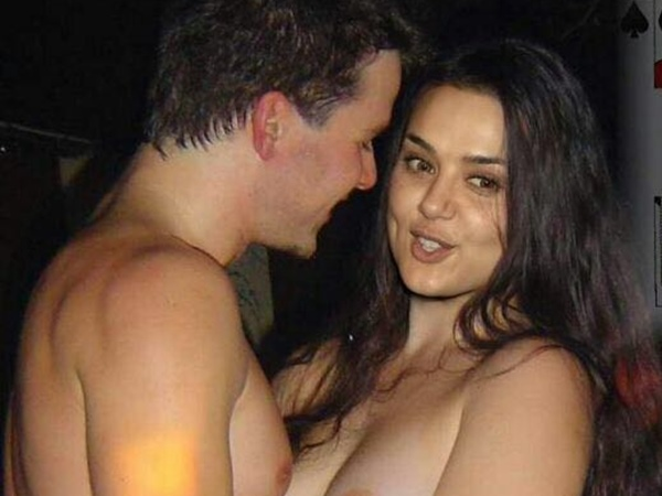 Was Preity Zinta Husband At London Club Photos Real