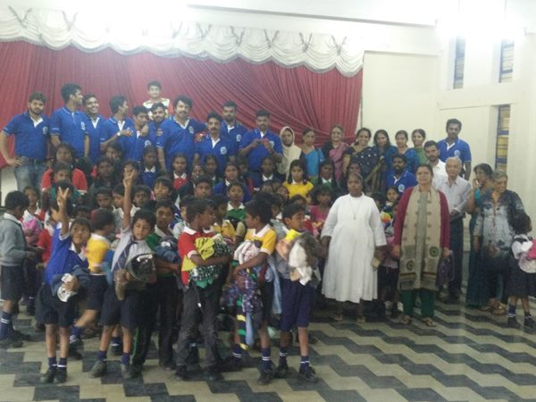 Bmf Distributed Clothes Food Poor Children