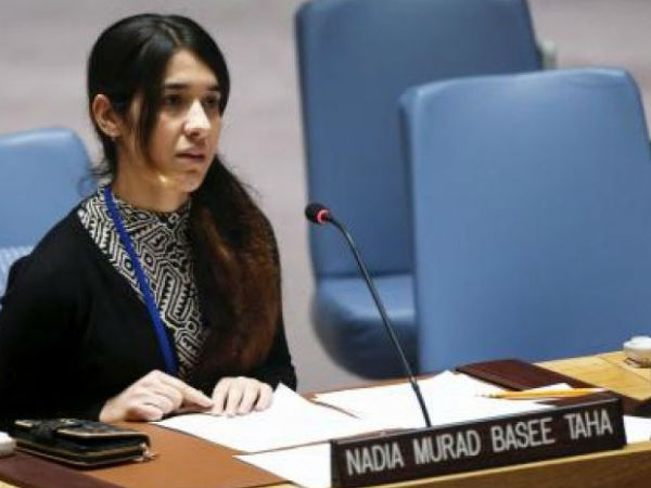 Isis Victim Nadia Murad Is Appointed As Un Goodwill Ambassador