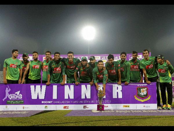 Bangladesh Crush Afghanistan Win Odi Series