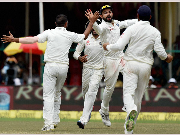 India Won 4th Test Against England