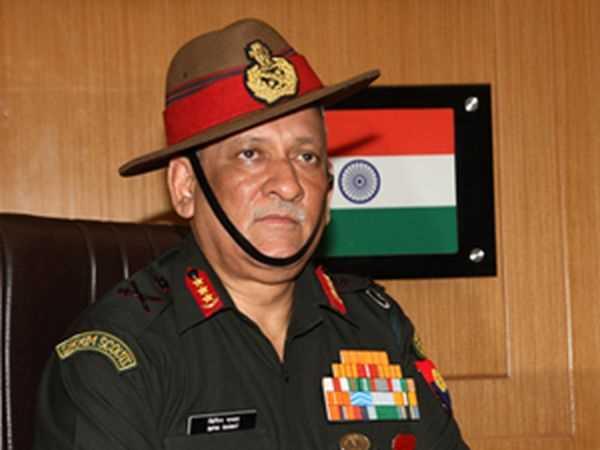 Chief Army Command Warning Pakistan