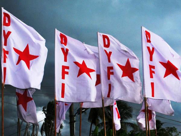 Police Blocked Dyfi Flag March