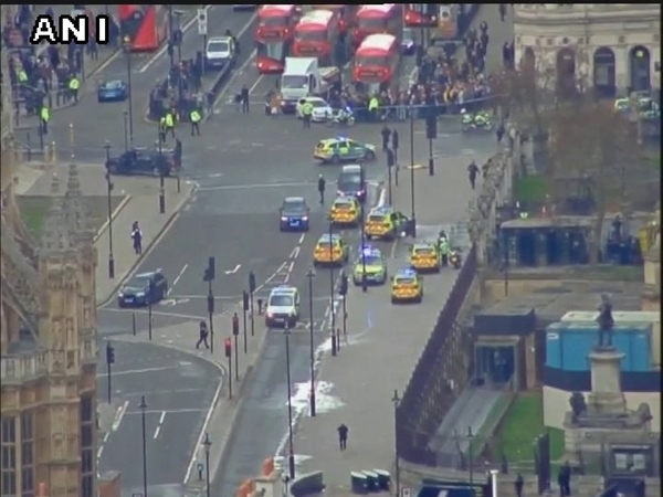 Shooting Outside Uk Parliament