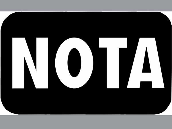 Nota Gets Less Vote Comparing To 2014 Loksabha Election