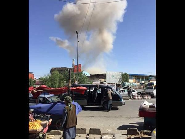 Explosion Near Indian Embassy Kabul Officials Safe Say Sources