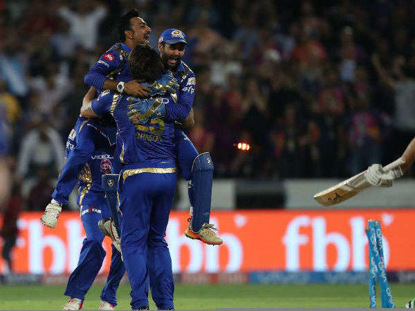 Ipl 2017 Final Match 60 Mumbai Beat Pune To Win 3rd Title