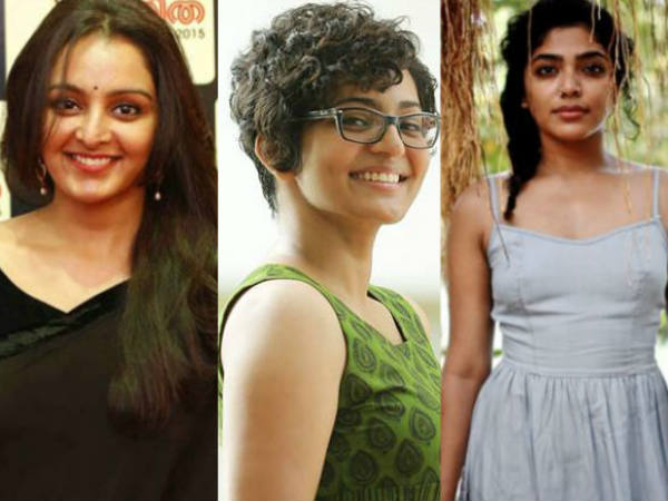Woman Collective In Cinema Manju Warrier Rima Kallingal Parvathy