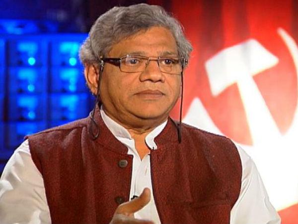 Yechuri Not To Contest In Raja Sabha Election