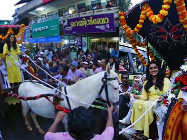 Surabhi Lakshmi Reception At Narikkuni Under Controversy