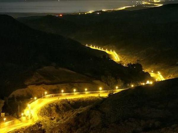 Home Ministry Report On Border Floodlighting Shows Spain Morocco Border