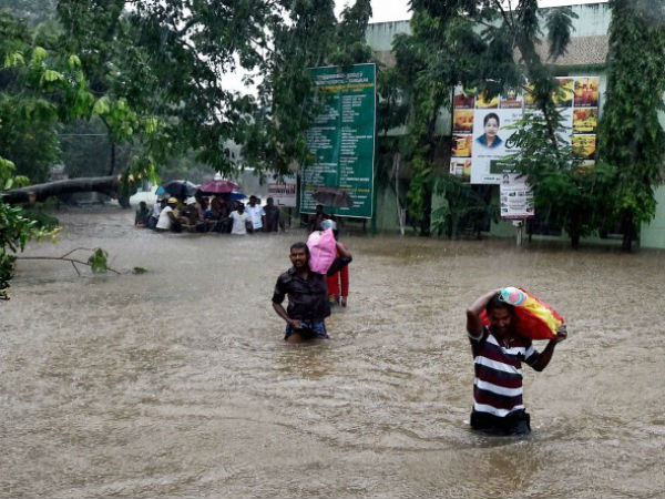 Flood Triggered Heavy Rains Odisha S Kalahandi Blocks Nh
