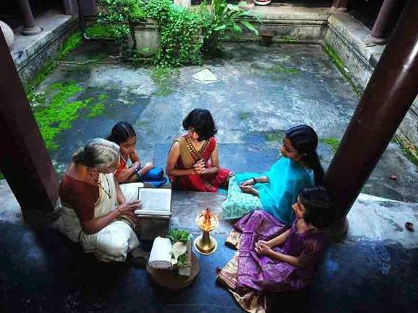 Ritual In Karkidakam In Malabar