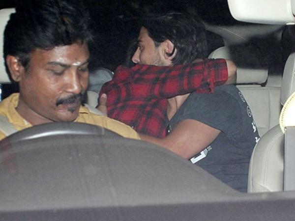 Actress Shruti Haasan Caught With Her Boy Friend Photo