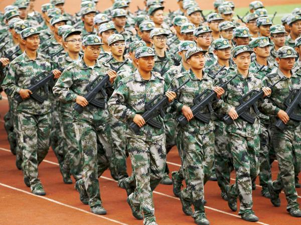 China Downsize Army Under Million Biggest Troop Cut