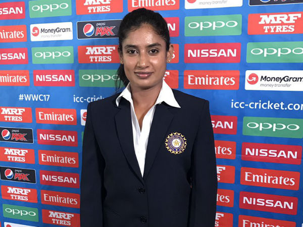 Mithali Raj Named Skipper Of Icc Team