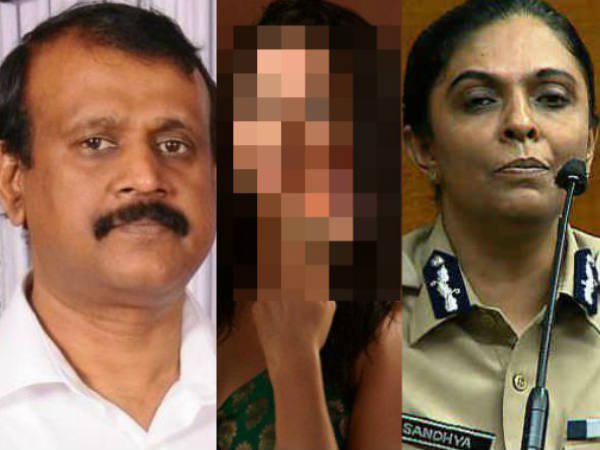 Media Report Adgp B Sandhya Prepared Inquiry Report Against Tp Senkumar