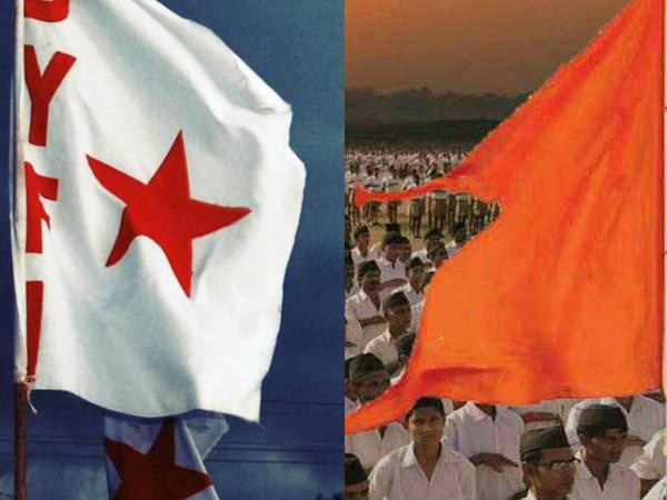 Sangh Parivar Attack Againist Aisf Long March