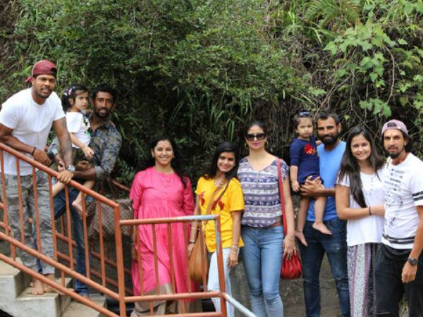 Indian Cricketers Visit Site Where Ravana Held Sita Captive Sri Lanka