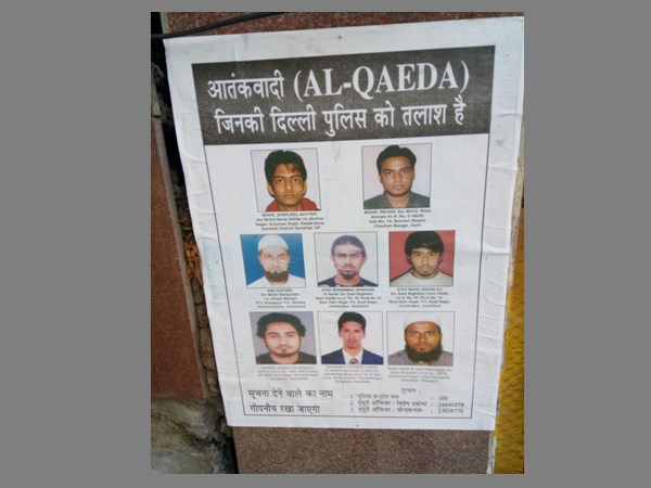 Delhi Police Put Up Posters Wanted Terrorists Ahead Independ