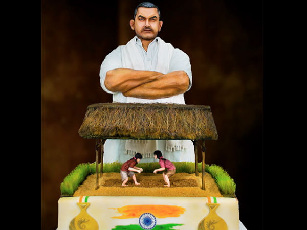 Dubai Bakery Makes Dh150 000 Gold Coated Dangal Cake Indian