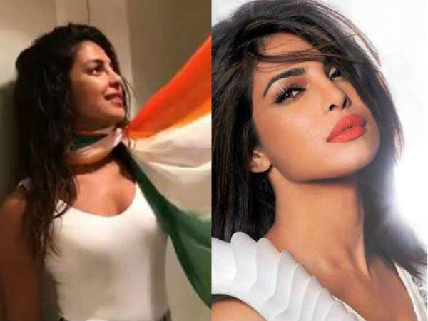 Priyanka Chopra Slammed In Social Media For Independence Day Post