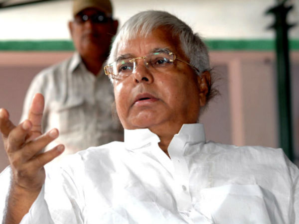 Lalu Yadav Tweets Morphed Image Of Rjds Anti Bjp Rally In Patna