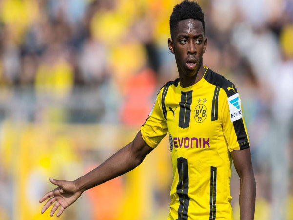 Ousmane Dembele Signs Five Year Barcelona Contract