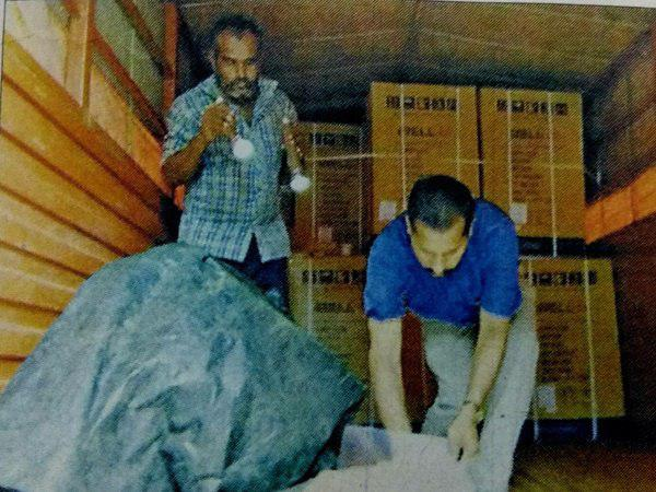 Television Sets Robbed From Lorry At Perumpilavu