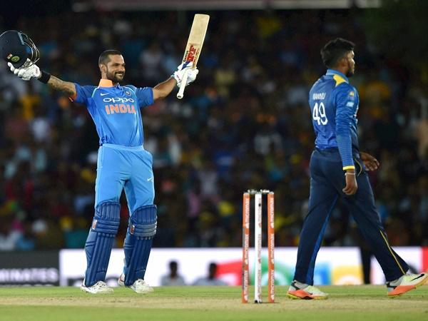 Dhawan Scores 11th Century His Fastest In Odis India Vs Sri Lanka