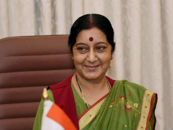 Father Tom Uzhunal Talked To Sushama Swaraj