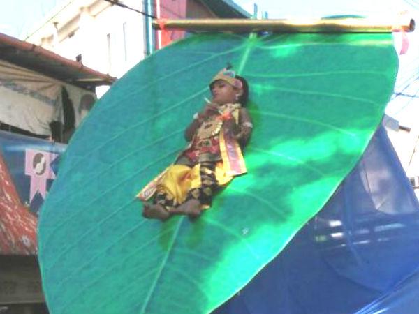 Child Tortured In Sreekrishna Jayanthi Procession