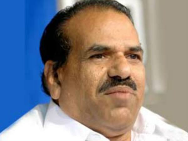Kodiyeri Supports Thomaschandi