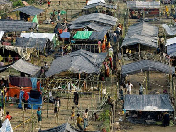 Rohingya Bangladesh Refugee Camp