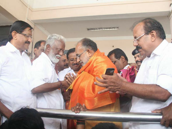 Bjp Kerala Organized Grand Reception Alphons Kannanthanam Kochi