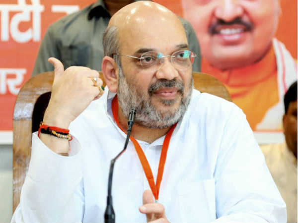 Amit Shah Rebuts Rahul Gandhi Dynasty Is Culture Of Congress Not India