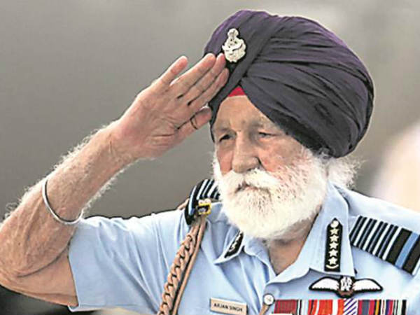 Marshal Of The Indian Air Force Arjan Singh Passes Away