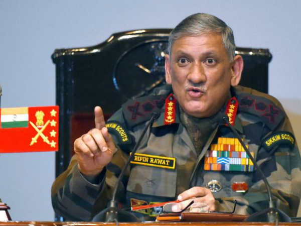 Surgical Strikes A Message To Pakistan More If Necessary Army Chief