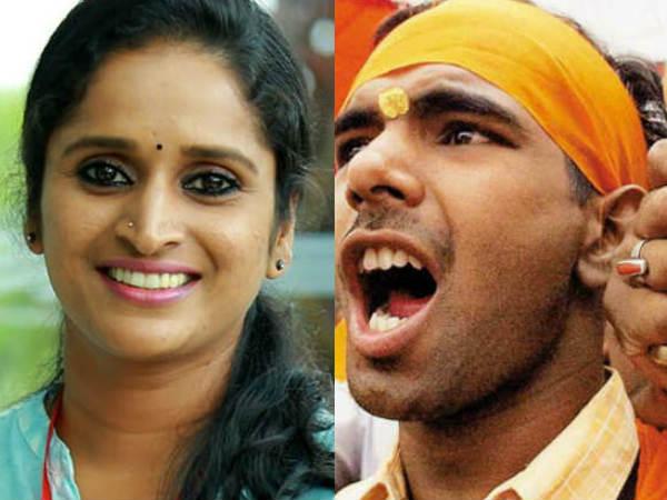 Sangh Parivar Against Surabhi Lakshmi