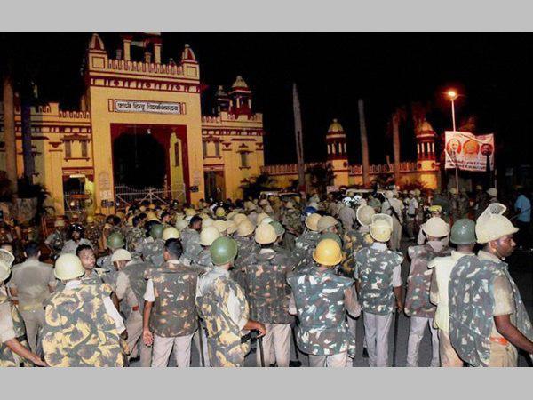 There Was No Lathi Charge On Girls Claims Bhu V C Girish Chandra Tripathi
