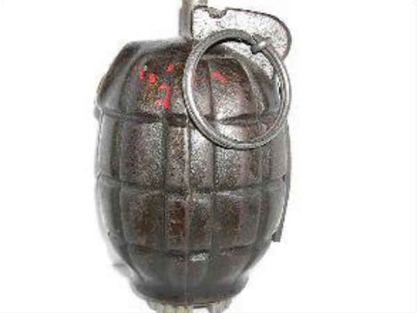 Steel Bomb Found From Iritty