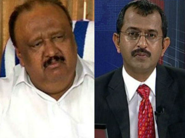 Thomas Chandy Supports Raise Allegation Against Asianet News Journalist