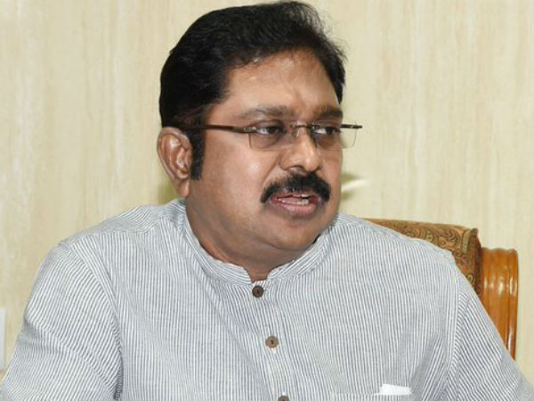Will Work To Bring Down Palaniswami Government Dinakaran
