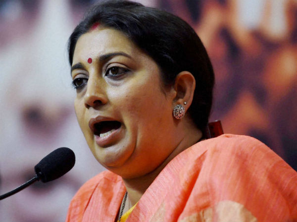 Smriti Irani On Rahul Gandhis Speech Abroad Failed Dynast Spoke In Us About His Failed Political Jo