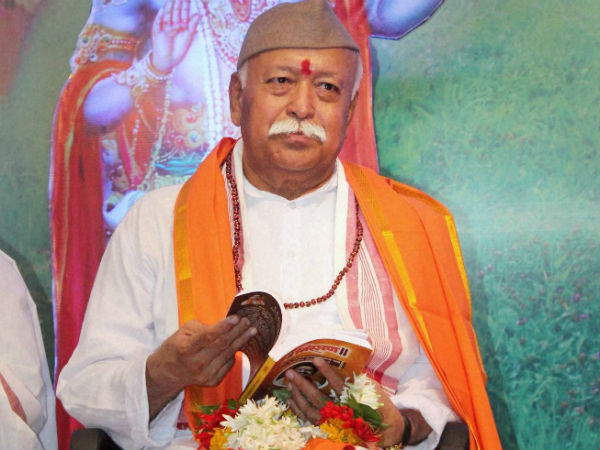 Those Who Revere Cows Dont Resort To Violence Says Rss Chief Mohan Bhagwat