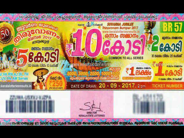 Onam Bumper Lottery First Prize Got Parappanangadi
