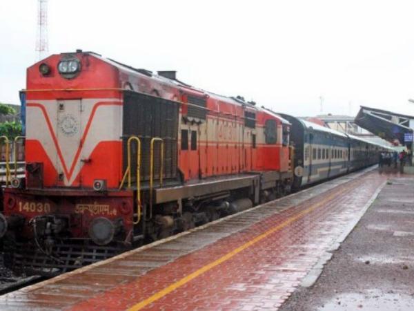 Maintenance Works Is Going On At Shornur Railway Bridge