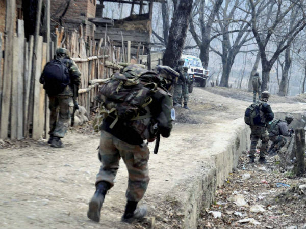 Terrorist Caught Encounter Jammu Kashmir S Shopian Another Killed
